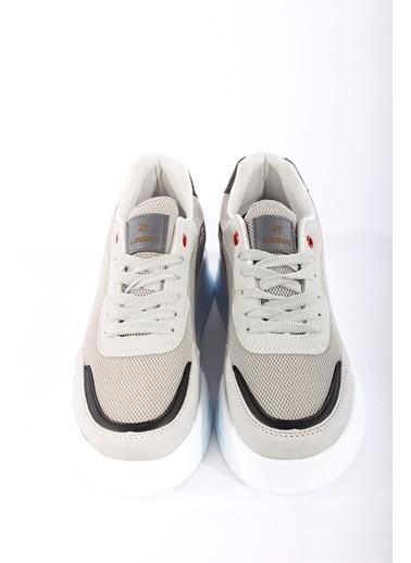 Rodrigo Erkek Beyaz Rahat Tabanlı Sneaker Ayakkabı Mavi